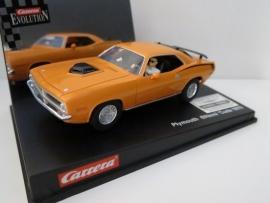 Carrera Evolution, Plymouth HemiCuda 1970 (nieuw)