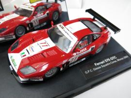 """Carrera Evolution, Ferrari 575 GTC """"G.P.C. Giesse Squadra Corse"""" Monza 2004 (zeer goede staat)"""