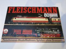 Folder Fleischmann treinen (DE)