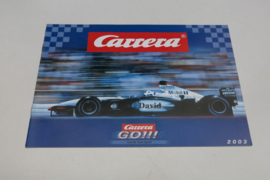 Carrera Go catalogus 2003