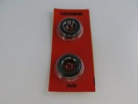 Fleischmann voorbanden opdruk `Fleischmann Rallye` 3521, 3630 (ovp)