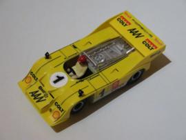 Porsche Can-Am geel nr. 1 (spiegels zwart, gestempeld)