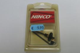 Ninco achteras- tandwielset 49 mm. / 24 tanden