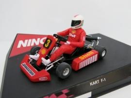 """Ninco, Kart F1 Series """"RED"""" (nieuw)"""