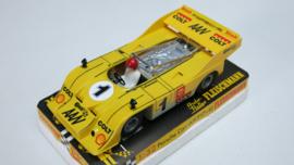 3202 Porsche Can-Am geel (spiegels zwart)