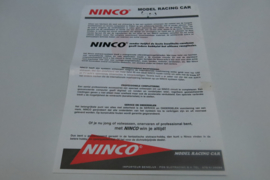Ninco blad model racing car