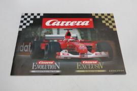Carrera Evolution/Exclusiv catalogus 2004/2005