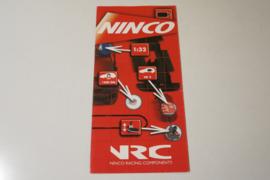 Ninco folder NRC racing components