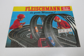 "Folder Fleischmann Auto-Rallye ""De grote winnaar"""