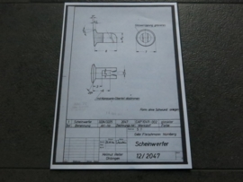 3224 - 3227 Porsche 911 koplamp