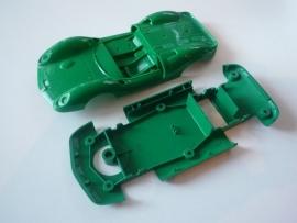 Ford Lotus bodem + kap groen