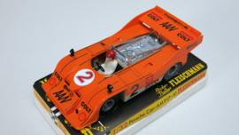 3203 Porsche Can-Am oranje nr. 2 (spiegels zwart) (nieuwstaat, gestempeld)