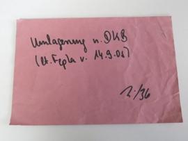 "Umlagenung ""Lager 36"" (DE)"