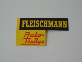 Fleischmann Auto-Rallye sticker (origineel Fleischmann)