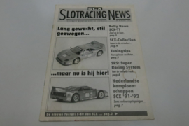 SCX folder Slotracing News 1992