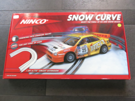 Ninco Chicane sneeuw bocht