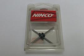 Ninco achteras- tandwielset 53,5 mm / 24 tanden (gehard)
