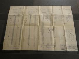 3124 - 3125 Baandeel buigbaar (hobbel / looping) (origineel 30-11-1971)