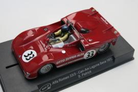 """Slot.it, Alfa Romeo 33/3 Can-Am """"Laguna Seca 1972"""""""