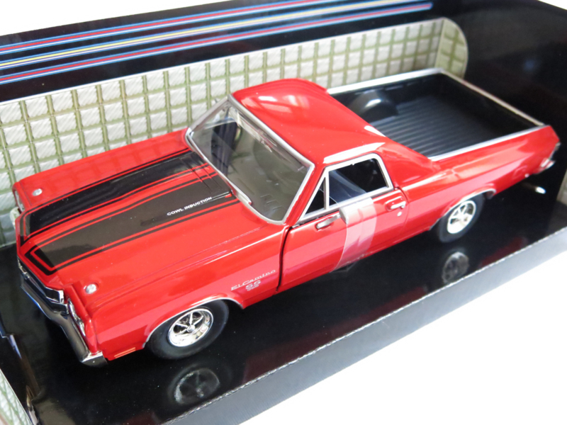 """MotorMax, 1970 Chevy """"El Camino"""" SS 396 (rood)"""