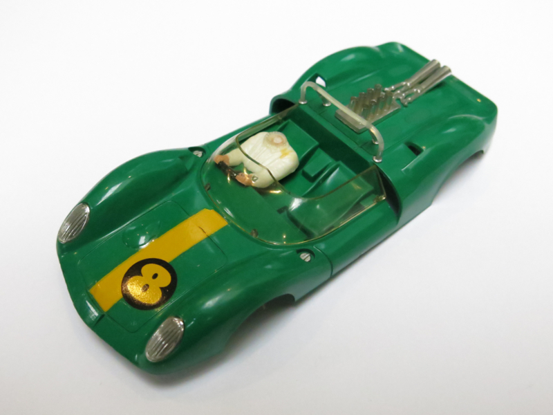 Ford Lotus kap groen