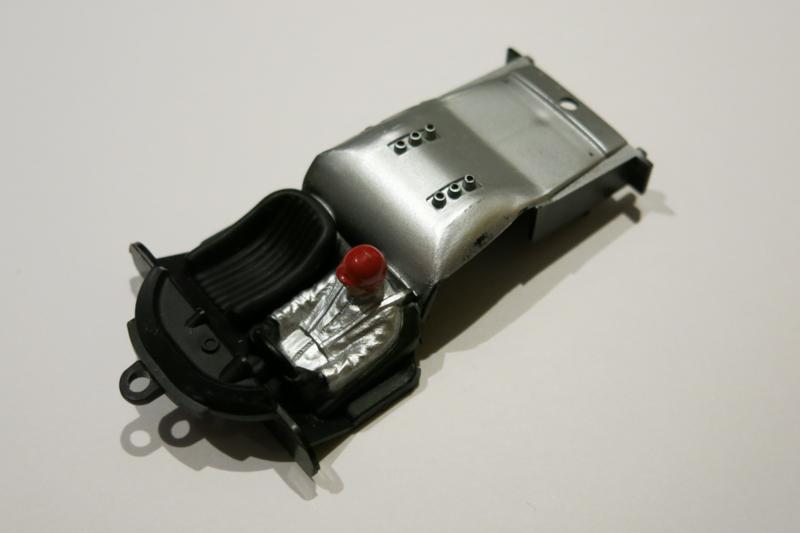 Porsche Carrera 6 interieur