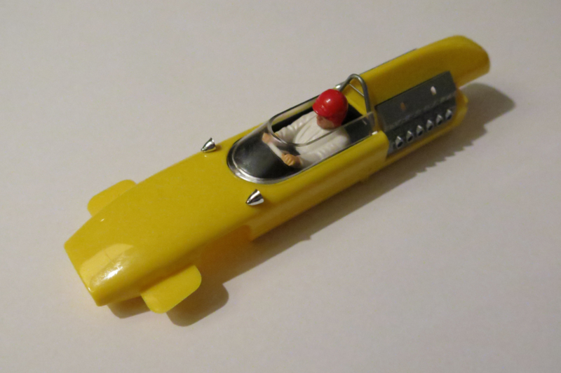 Cooper Maserati kap geel (gebouwd)