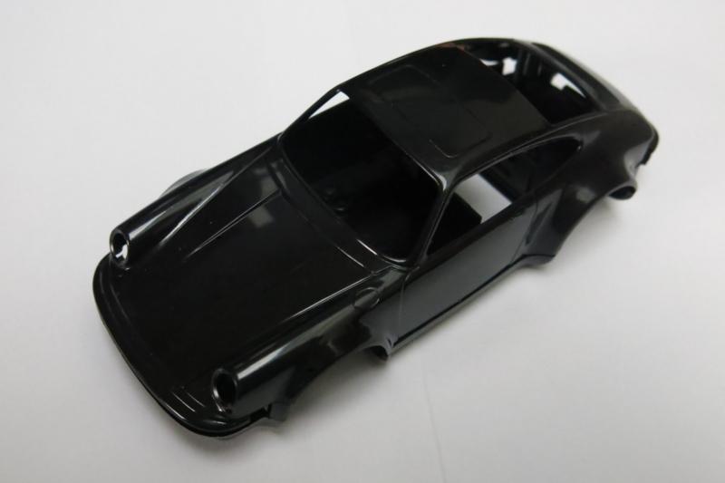Porsche 911 kap/ bodem zwart (zie tekst)