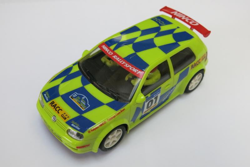"""Ninco, Volkswagen Golf """"Rally Catalunya"""""""