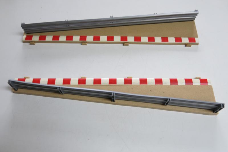 Scalextric / Hornby, slipstrook met vangrail
