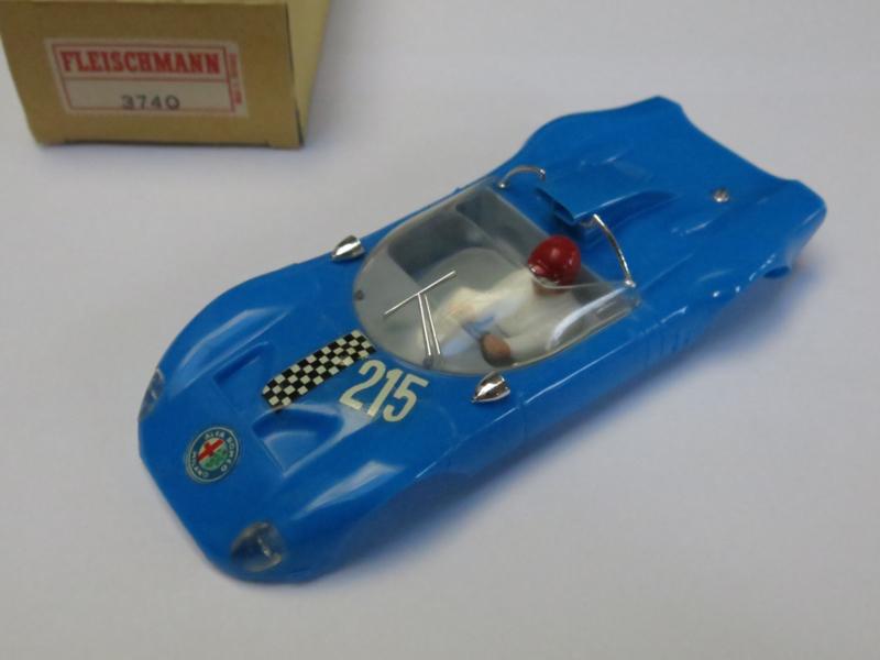 Alfa Romeo kap blauw 3740 (ovp) (nieuwstaat)