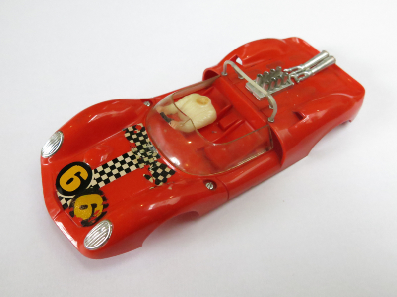 Ford Lotus kap oranje