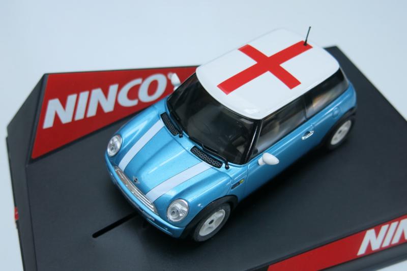 "Ninco, Mini Cooper ""England"" Flag Series"