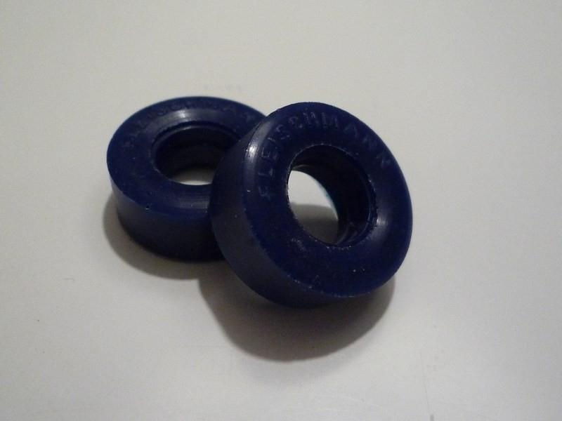 """Medium compound reprobanden met opdruk """"Fleischmann"""" (3522) Kleur: Blauw"""