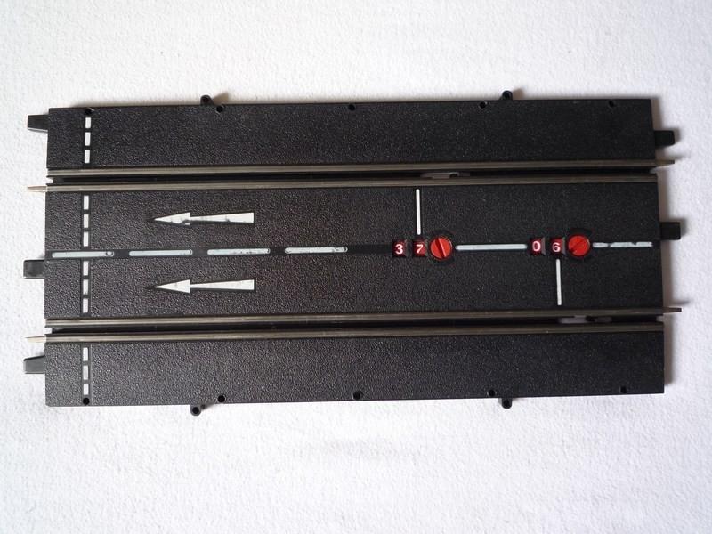3117 Baanstuk aansluitbaanstuk met rondenteller