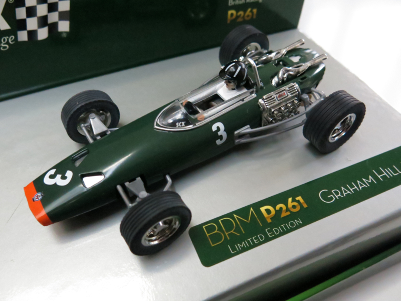 "SCX Vintage, BRM P261 ""Graham Hill"" (Limited Edition nr. 1999)"