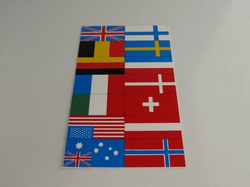 Vlaggen (kaart)