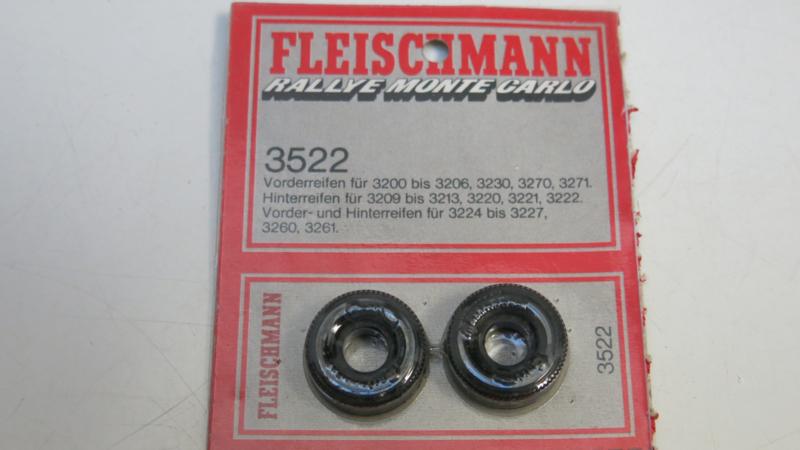 Fleischmann voor- achterbanden opdruk `Continental` 3522 (ovp)