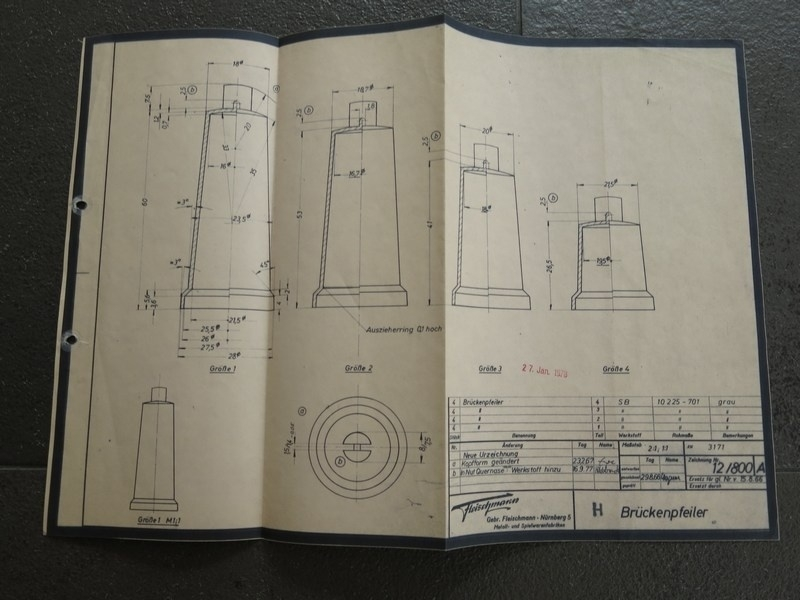 3171 Brugpijlerset (origineel 27-01-1978)