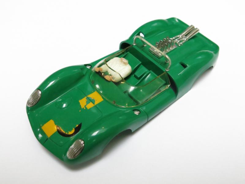 Ford Lotus kap groen