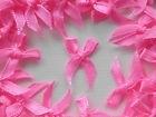 (Smini-005) Mini strikje - neon roze