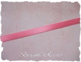 (SA-024b) Satijn lint - roze 2 - 10mm