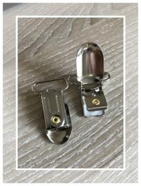 (SPe-002) Speenclip - metaal - recht - 2,5cm