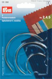 (DIV-017) Prym - gebogen naalden - stoffeerders naalden - kromme naalden