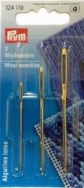 (DIV-016) Prym maasnaalden (wolnaalden) - 3 maten