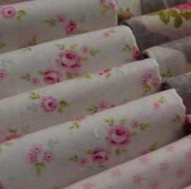 Tilda stof - petit rose - 50x50cm