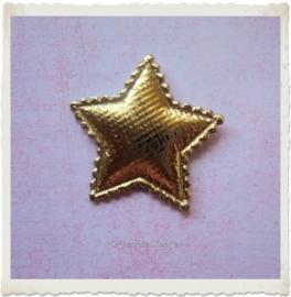 (Ster-051) Ster - goud - 3cm