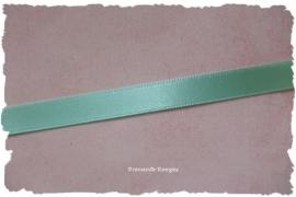 (SA-032a) Satijn lint - mint - 10mm (kleurnr. 078)