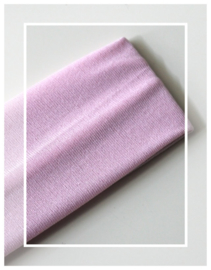 Haarband - stretch stof - licht roze