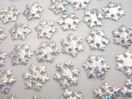 (KE-010) Sneeuwvlok - zilver - 2cm
